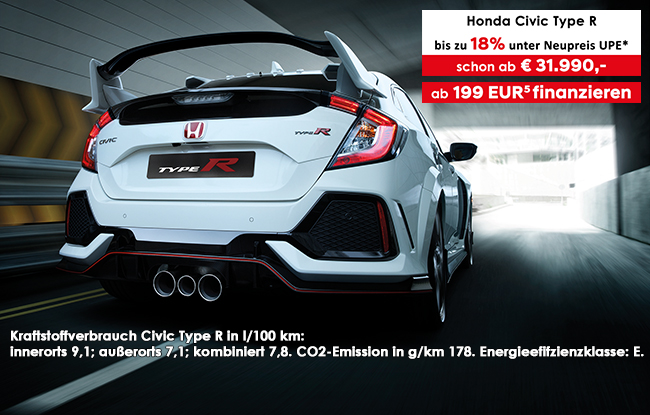 Der Honda Civic Type R